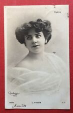 CPA. Actrice L. PIRON. Opéra. 1904?  Reutlinger.