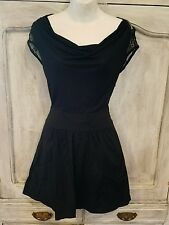 Express womens dress size 0 black short party dinner