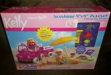 NEW Barbie KELLY Seashore 4 x 4 PLAYSET Jeep Wrangler BEACH Party No Dolls 2000