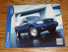 Original 2003 Ford Truck Ranger Sales Brochure 03 XL XLT Edge