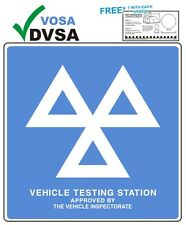 MOT SIGNS | MOT SIGN | VOSA | DVSA | OFFICIAL MOT TESTING STATION SIGN + GIFT