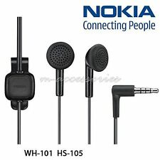 GENUINE WH-101 NOKIA 6300,6300i,E51,3109,3120,E71 EARPHONES HEADPHONES HANDSFREE