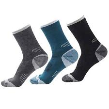 Men's Merino Wool Sock 3 Pairs Warm Thermal Sport Winter Hiking Camp Socks