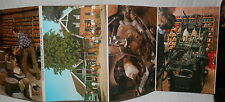 WOODEN SHOE FACTORY RATTERMAN Vecchie foto cartoline 6 Post Card Holland Olanda
