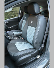 VAUXHALL OPEL ASTRA J BLACK & GREY CAR SEAT COVERS