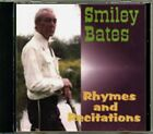 Smiley Bates - Rhymes and Recitations RARE Original Canadian CD (Brand New!)