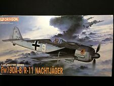 DRAGON 1/48 Fw190A-8/R-11Nachtjager Plastic Model Kit MIB #5514