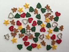 Itty Bitty Cut Out Cookies - christmas novelty Dress It Up craft buttons