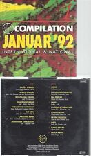 CD--VIRGIN COMPILATION--JANUAR 92--OMD-ELFI GRAF --VA--2CD