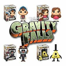 Gravity Falls Dipper, Mabel Pines, Grunkle Stan, Bill Cipher Pop!  Set of 4