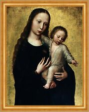 The Virgin Mary with the Child Jesus in a Shirt Benson Maria Religion B A3 00446