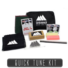 Ski & Snowboard Tuning Universal Quick Tune Travel Tuning Kit - Wax