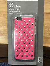Signalex iPhone Studs Cover / Case for iPhone 6 & 6S, Pink & Silver Stud Design