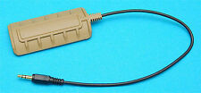 G&P Panel Flashight Switch for Airsoft Toy PAQ 4 (SAND) - GP801S