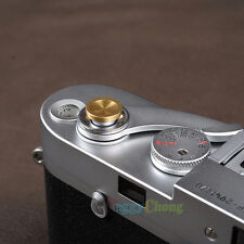 10x Gold Metal Soft Shutter Release Button for Fujifilm Leica M4 M6 M7 M8 M9 #14
