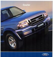 Ford Courier Pick-Up 2005 Australian Market Sales Brochure GL XL XLT Ranger