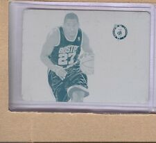 Jordan Crawford  2012-13 National Treasures Jersey Number Printing Plate 1/1