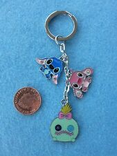 Lilo and Stitch Keyring Keychain Enamel Bag Charm Birthday Gift Present # 34