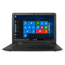 "KOCASO 14.1"" Windows 10 Laptop Notebook Tablet PC 32GB Quad Core Intel 1.8GHz"