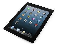 "Apple iPad 4 4th Gen 16GB Wi-Fi, Retina Display 9.7"" Black A+ Grade Apple Care"