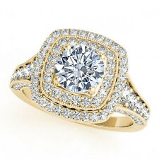 1.33 Ct Natural White Diamond Classy Solitaire Ring G VS2 Affordable Beautiful
