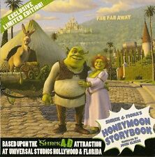 *New* Shrek & Fiona's Honeymoon Read-Along Storybook CD-Rom For PC & Mac