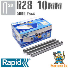 Rapid R28 10mm Cable Tacker Staples 5000 Box