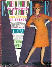 ▬►Elle 843 (1962) MODE COLLECTIONS PRÊT A PORTER FASHION_CAROLINE DE MONACO