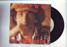 michel berger -- disque 45 tours - bon etat - voyou / mandoline / WEA -