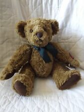 "Russ Berrie Bear Vintage Edition 14"" Brown Jointed Chadfield NWT MSRP $35"