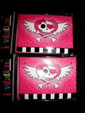 Pink Heart, Skull and Crossbones Party Invitations-2 packs of 10 (20 total) New!