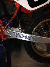 1987 Honda Pro-Link decal stickers  CR500R  Vintage Motocross CR 500 CR 500R VMX