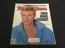 David Bowie, Duran Duran - Rolling Stone Magazine 1983