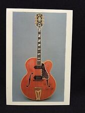 1952 Gibson Super 400 CESN Electric Orchestra Guitar Post Card FS