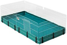 Guinea Pig Pet Expandable Habitat Small Animal Cage Tray Playpen Indoor Outdoor