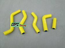 FOR Suzuki RMZ250 RM-Z250 2007 2008 2009 Silicone Radiator Hose yellow