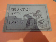kelantan arts crafts 1935 rare catalogue