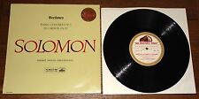 "SOLOMON MENGES BEETHOVEN GOLD RIM NIPPER HIS MASTERS VOICE STEREO 10"" BSD 751 LP"