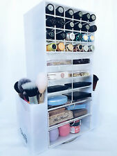 Makeup holder - Vanity Decay Aurora Makeup Tower - spinning makeup organiser
