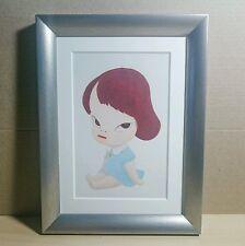 Yoshitomo Nara - ORIGINAL VINTAGE ART - 1997 Edition Hothouse Doll Drawing Print