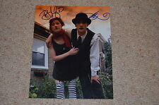 DRESDEN DOLLS sexy signed Autogramm In Person 20x25 cm AMANDA PALMER