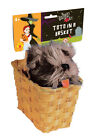 Dorothy's Wizard of Oz TOTO in Basket Fancy Dress Accessory 533