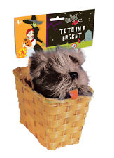 Dorothy Wizard of Oz TOTO in a Basket Girls Fancy Dress Costume Accessory 511