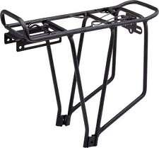 Fahrradgepäckträger Alu-Gepäckträger für 24 - 28 Zoll schwarz MTB CROSS TREKKING