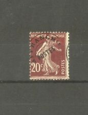 "FRANCE STAMP TIMBRE PREOBLITERE N°54 ""SEMEUSE 20c SURCHARGE A CHEVAL"" NEUF xx TB"