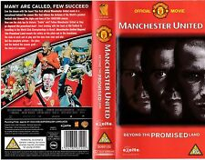 MANCHESTER UNITED BEYOND THE PROMISED LAND VHS PAL NEW BARGAIN