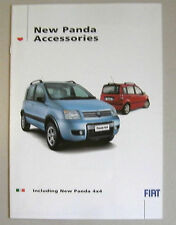 FIAT PANDA GAMMA ACCESSORI AUTO opuscolo. include 4X4 Roof Rack Bars etc etc