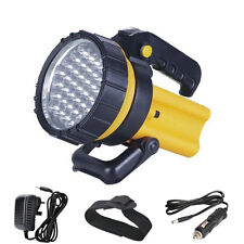 37 LED Rechargeable Lantern Torch Light 1 Million Candle Power Spotlight Flash