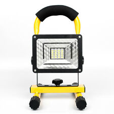 30W LED Portable Spotlight Lamp Outdoor Waterproof IPX6 Rechargeable Flood Light