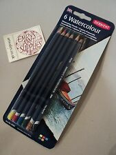 Derwent Watercolour Pencils  Pack of 6